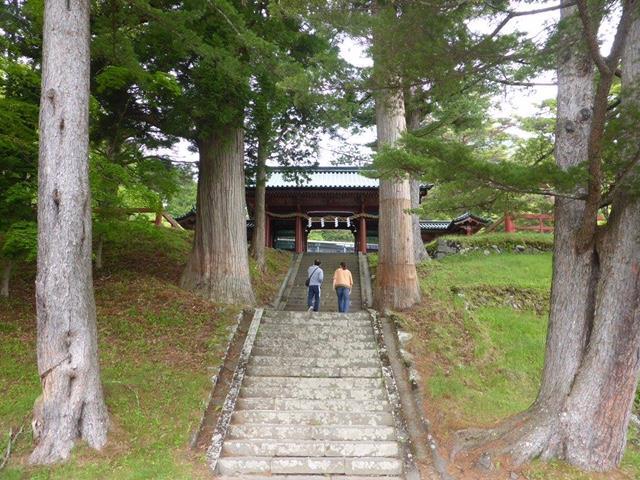 二荒山神社中宮祠入口2