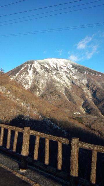 2013初日の出男体山