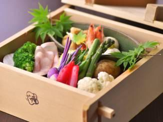 夏料理:【蒸篭蒸し】季節のお野菜
