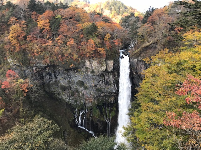 10/25 華厳の滝