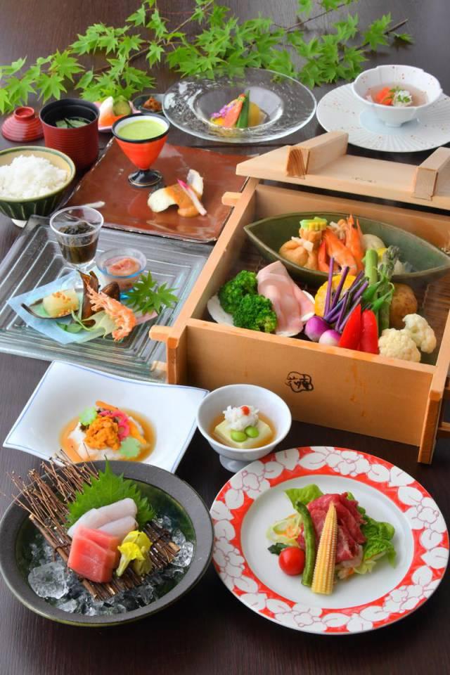 夏のお料理のご紹介 (7月中旬頃より提供予定)