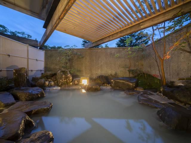大浴場露天風呂が新しくなりました!