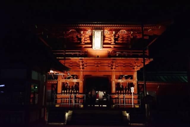 華厳の滝・立木観音ライトアップ 11/23(土)まで