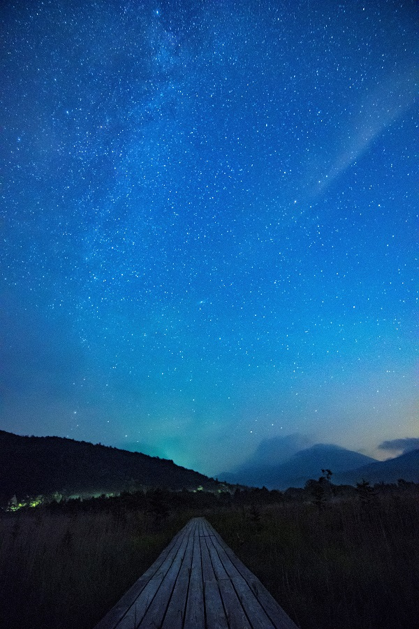 奥日光で星空観察