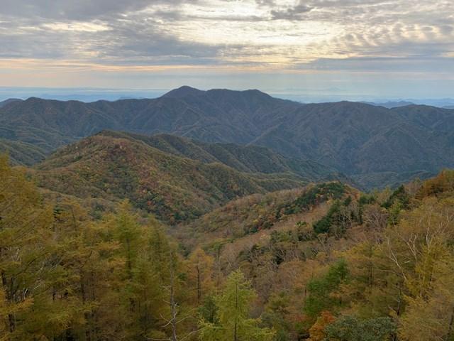 中禅寺湖展望台~半月山展望台の紅葉