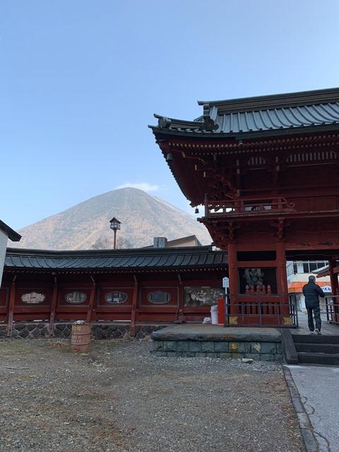 中禅寺温泉発、立木観音行バスが運行開始となりました